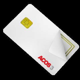 ACOS3 Microprocessor Card